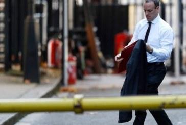 Британският министър за Брекзита подаде оставка