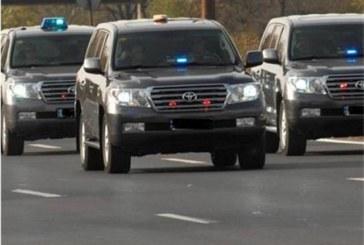 Инцидент с автомобил на НСО в София