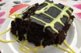 Кекс с какао и шоколад