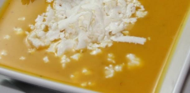 Крем супа от картофи и сирене