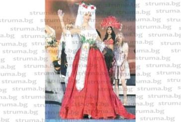 """Петричанката Камелия Димитрова се прибра от Китай с две специални награди от """"Мис Модел на света"""""""