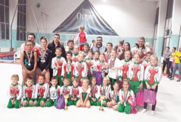 Отрупаха с медали благоевградските гимнастици в Пловдив