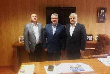 Кметът на Гоце Делчев Вл. Москов се срещна с кметовете на Драма и Кавала