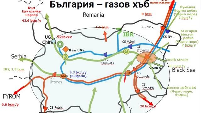 """Започва изграждането на газов хъб """"Балкан"""""""