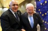 Б. Борисов се срещна с Франс Тимерманс в Брюксел