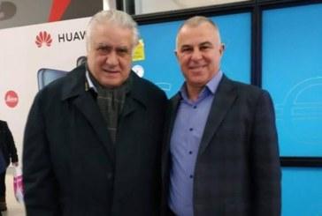 Бившият президент на Реал (Мадрид) на гости на кмета на Симитли