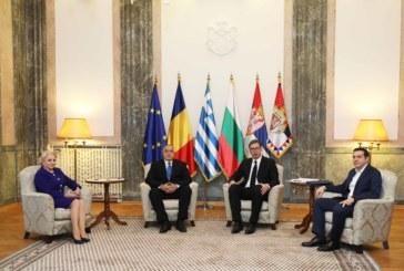 Започна Четиристранната среща на високо равнище в Белград
