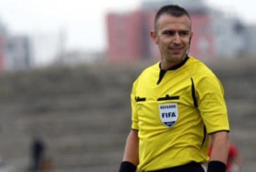 Наказаният у нас топрефер от Петрич  Ив. Стоянов се отличи в Европа