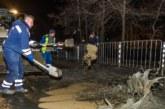 Авария със строежа на метрото в София