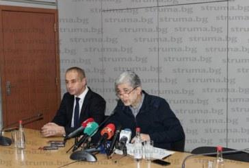 Кметът на Кюстендил Петър Паунов на спешна среща с премиера Бойко Борисов след гражданския протест в Босилеград