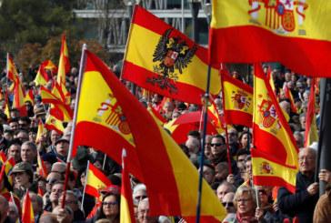 Хиляди на протест в Испания срещу независимостта на Каталуния