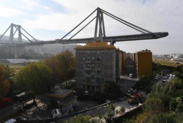 """Започва разрушаването на моста """"Моранди"""" в Генуа"""