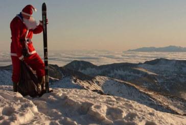 Дядо Коледа стъпи на Мусала