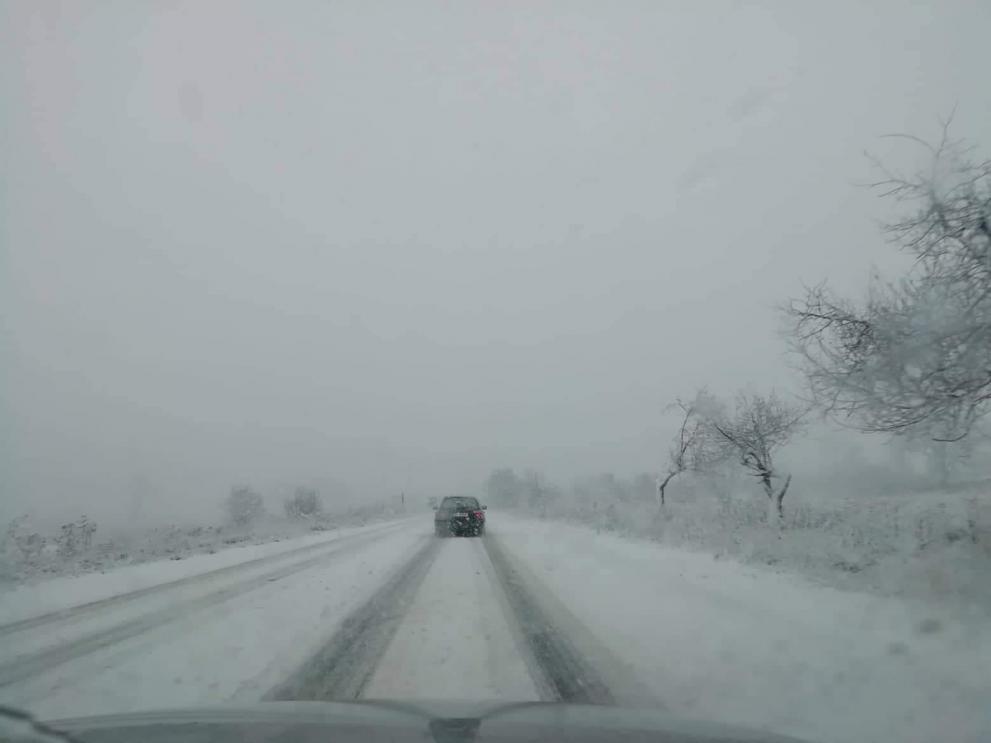 Усложнена пътна обстановка в Кюстендилска област