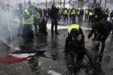 Париж като след гражданска война след поредните протести
