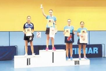 Пернишко момиче спечели златен медал в тениса на маса