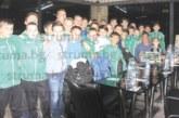 """Децата на ОФК """"Пирин"""" изпратиха успешната година на съвместно парти с родители и питка с късмети"""