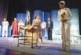 С разкошна торта по случай 25 г. на сцената изненадаха актрисите от дупнишкия театър В. Сумева и Сн. Малковска