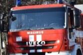 """Огнеборци се изстреляха към """"14-ти полк"""" в Благоевград! Пламна покривътна жилищна сграда"""
