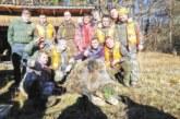 Най-младият ловец с най-точен мерник! П. Милчев повали глиган, подсигури трапезата за Коледа на колегите си