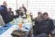 Селски кмет в Кюстендилско празнува студентския празник с кукерската си група