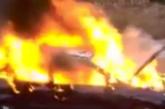 ОГНЕН АД! Пламна жп гарата в кюстендилско село