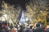 Симитли грейна в празнична премяна, Дядо Коледа пристигна с училищния автобус, пълен с подаръци за децата