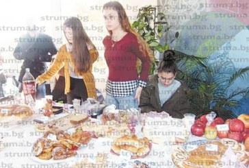 С кулинарен базар кюстендилски ученици си направиха Ден на професиите