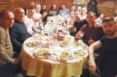 """Футболистите на """"Спортист"""" /Струма/ закриха полусезона на обща трапеза и с песните на Володя Стоянов"""