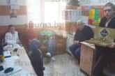 Най-новото попълнение в санданската болница В. Белемезова почерпи колегите с баница и вкусотии за рожден ден