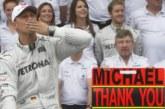 Михаел Шумахер на 50! Големият шампион в борба за живот