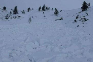 Лавина падна в Осоговската планина