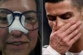 Роналдо разби носа на жена, извини се подобаващо