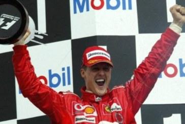 Семейството на Шумахер ще празнува 50-ия му рожден ден