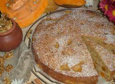 Тиквен сладкиш с орехи и канела