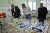 Кметът на Гоце Делчев Вл. Москов поздрави работещите в АГ-отделението за Бабинден