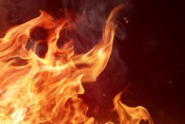 Пожар изпепели над 100 коли в автоморга в Англия