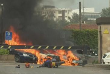 Две експлозии и престрелка в столицата на Кения