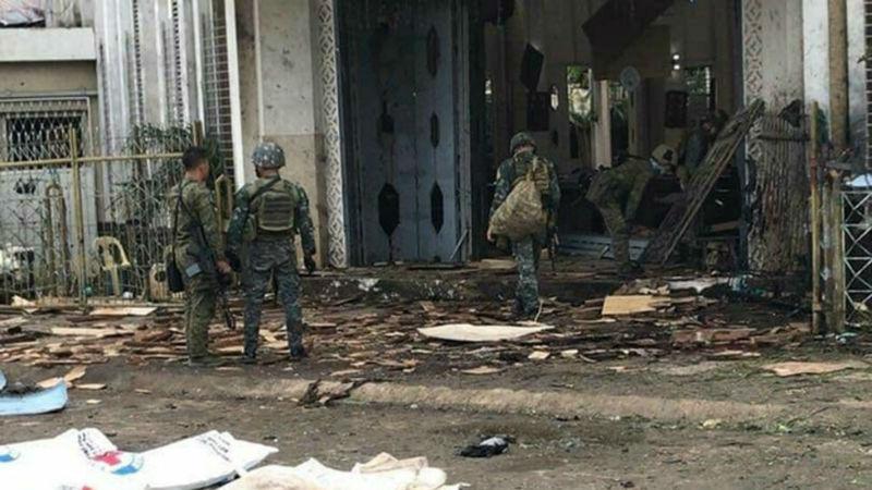 Атентат в католическа църква във Филипините, има жертви