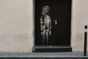 Откраднаха творба на Банкси, посветена на жертвите на атентат в Париж