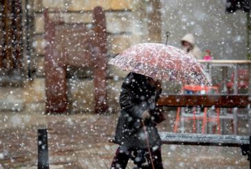 Предупреждение за силни снеговалежи в Южна България