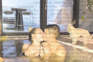 В ОЧАКВАНЕ НА МНОГОМИЛИОНЕН ТРАНСФЕР! Футболният национал от Кресна К. Десподов в страстна целувка в басейн с щерката на Цветелина Бориславова