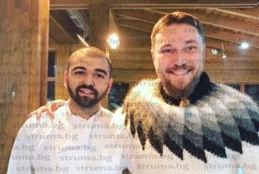 Миро се похвали със снимки с млад готвач от Благоевград