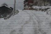 Усложнена пътна обстановка в Гоцеделчевско, снежната покривка надхвърли 30 см.