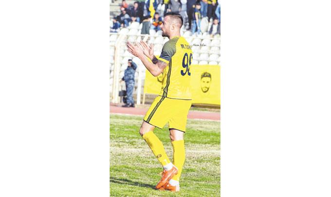 Таранът от Крупник М. Тошев се завърна в Ливан с победа