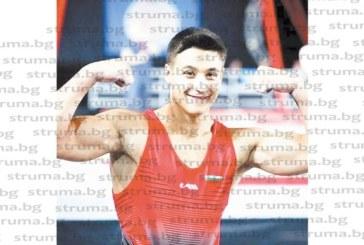 Красива гримьорка от Банско мотивира спортист №1 на Благоевград Д. Димитров за големите успехи през 2018 г.
