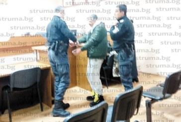 Гастарбайтер в Германия, заловен без книжка и пиян зад волана на нерегистрирана кола, празнува именния си ден в ареста в Сандански