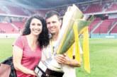 Футболен национал от Гоце Делчев и секссимволът на родния волейбол се разделиха