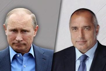 Бойко Борисов проведе телефонен разговор с Владимир Путин