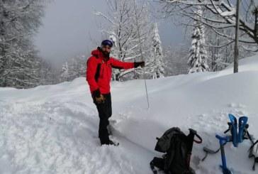 Обявиха най-висока степен на лавинна опасност в Осоговската планина
